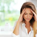 women with headache